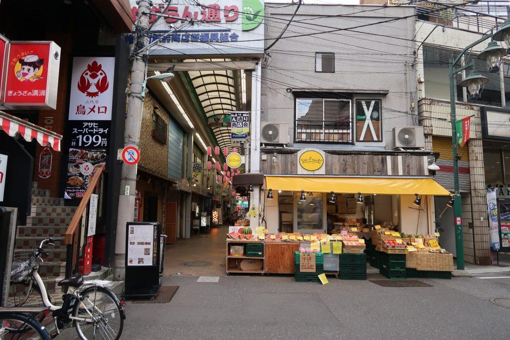 shiinamachi shotengai