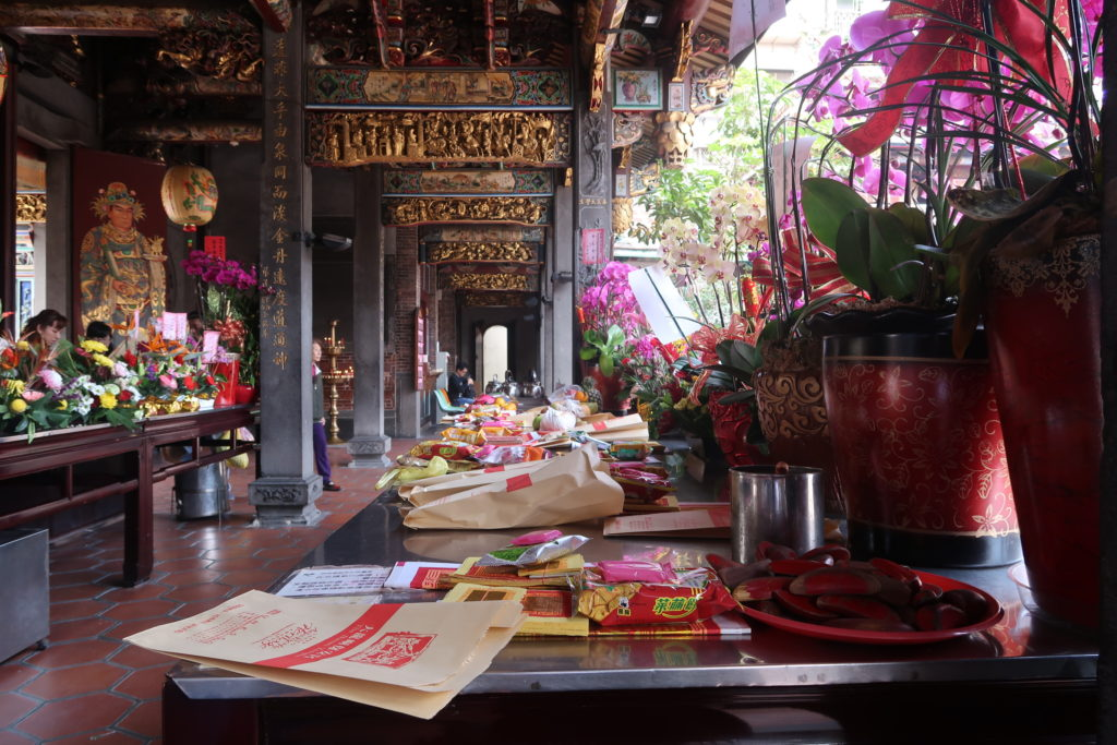 offrande temple taiwan